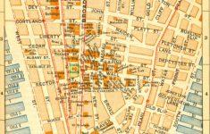 Manhattan City Map Printable