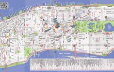 New York City Street Map Printable
