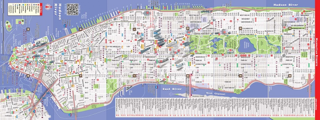 Printable New York Street Map Quick Updated Nyc Maps | Travel Maps - New York City Street Map Printable