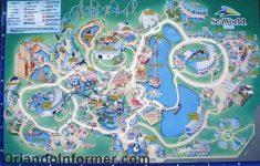 Printable Sea World Map