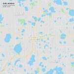 Printable Street Map Of Orlando, Florida | Hebstreits Sketches   Street Map Of Orlando Florida