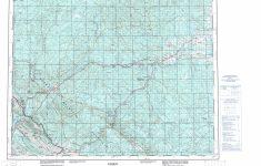 Printable Topographic Map Of Edson 083F, Ab – Free Printable Topo Maps Online