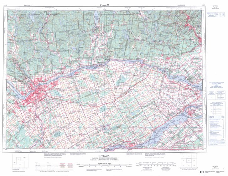 Topographic Map Printable