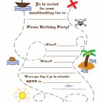 Printable Treasure Map Invitation   Printable Maps For Invitations