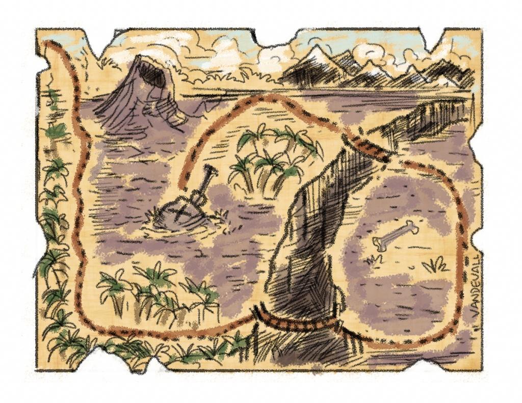 Printable Treasure Maps For Kids - Printable Treasure Map