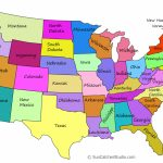 Printable Us Maps With States (Outlines Of America   United States)   Free Printable Us Map With States And Capitals