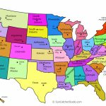 Printable Us Maps With States (Outlines Of America   United States)   United States Map With States And Capitals Printable