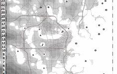 Fallout 3 Printable Map