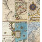 Printable Vintage Map Tags | Call Me Victorian   Vintage Map Printable