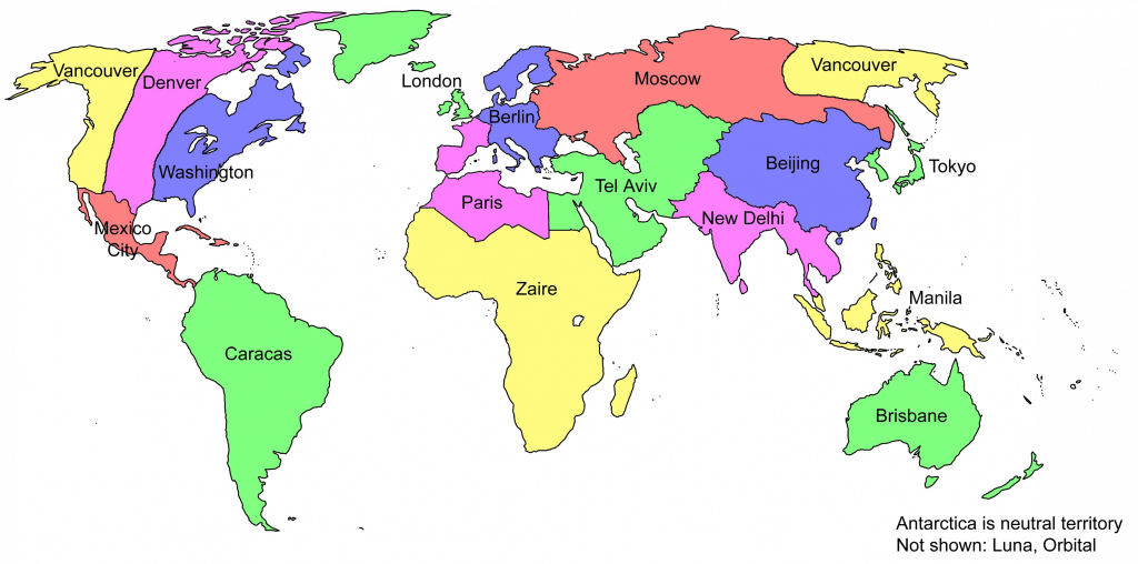 Printable World Map For Kids With Country Labels - Loveandrespect - Printable World Map For Kids