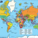 Printable World Map With Countries Labeled Pdf And Travel   Free Printable World Map Pdf