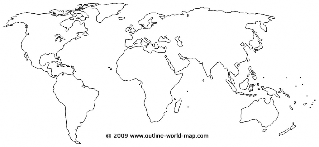 Printable World Map - World Wide Maps - Picture Of Map Of The World Printable