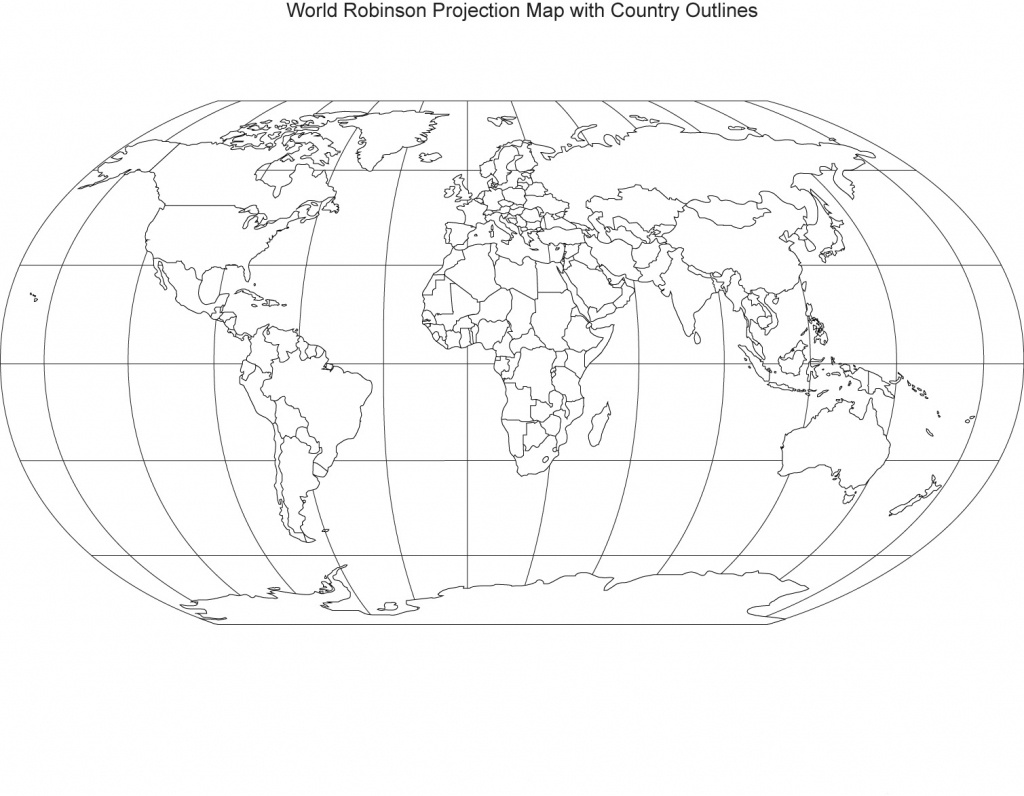 Printable World Maps - World Maps - Map Pictures - Printable World Map With Hemispheres