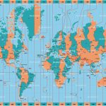 Printable World Time Zone Maps And Travel Information | Download   World Time Zone Map Printable Free