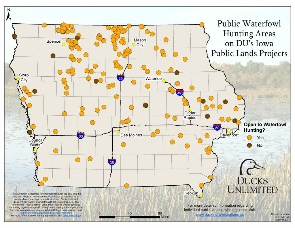 Public Waterfowl Hunting Areas On Du Public Lands Projects - Texas Public Hunting Land Map