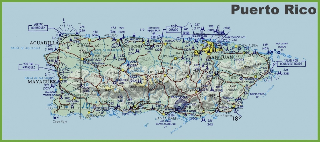 Puerto Rico Maps   Maps Of Puerto Rico - Printable Map Of Puerto Rico