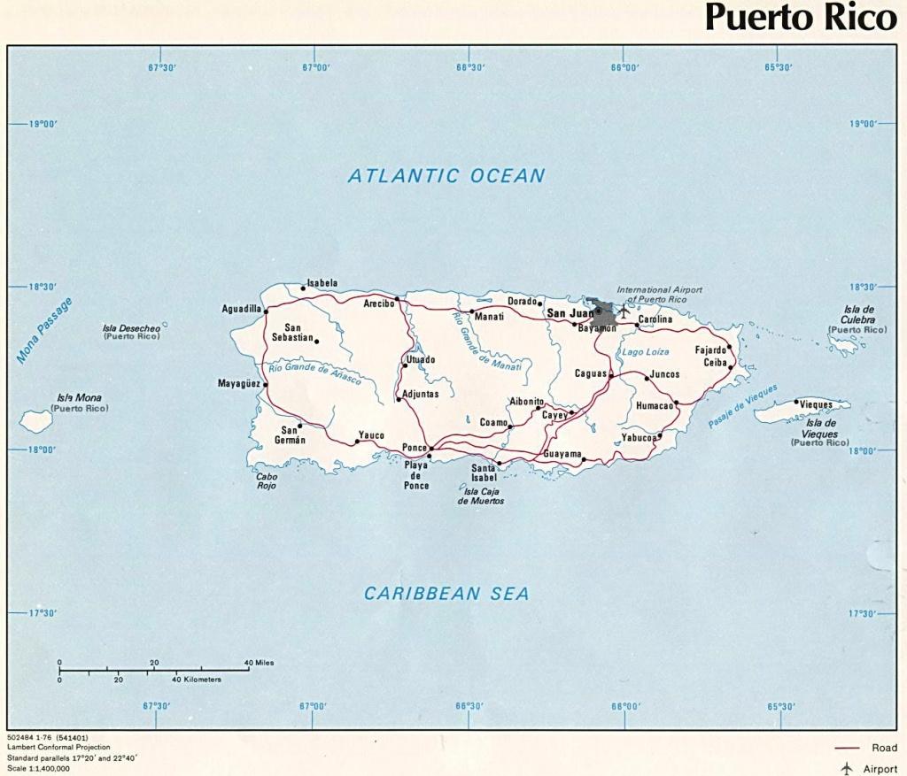 Puerto Rico Maps   Printable Maps Of Puerto Rico For Download - Printable Map Of Puerto Rico
