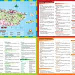 Puerto Rico Tourist Map   Free Printable Map Of Puerto Rico