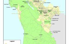 San Mateo California Map