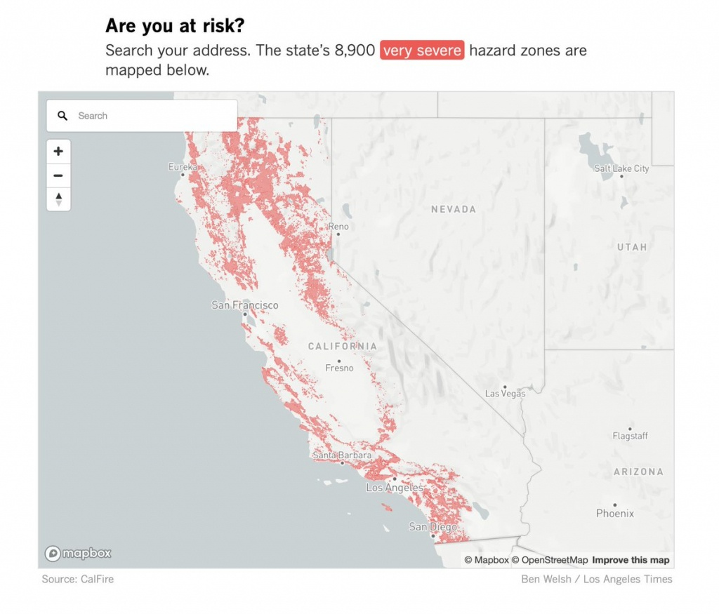 "Rachael Myrow On Twitter: ""1 Million+ Structures, Roughly 1 In 10 - California Department Of Forestry And Fire Protection Map"