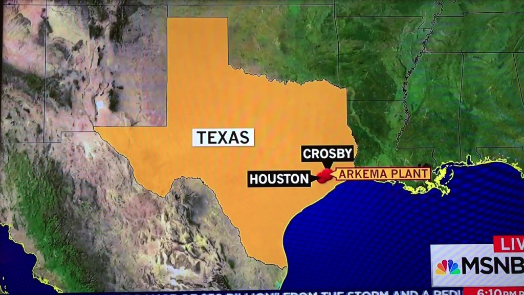 Rachel Maddow Vs. Crosby, Tx Map / Producer - Youtube - Crosby Texas Map