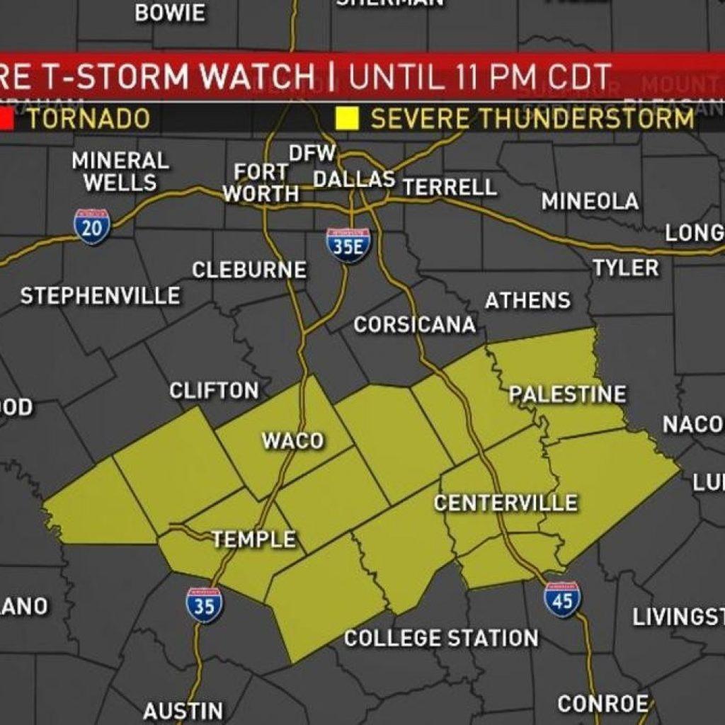 Radar Map Of Texas - North Texas Radar Map