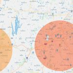Radius Map: How To Start Analyzing Your Data | Espatial   Printable Radius Map