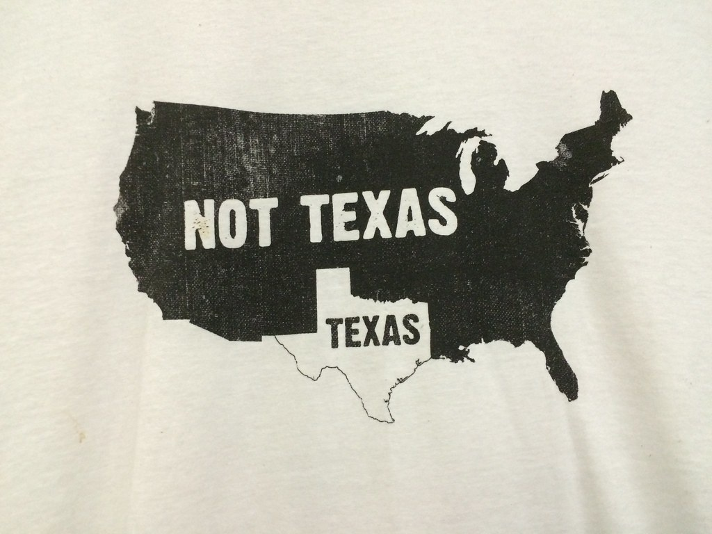 Rahr & Sons Texas Map Shirt | Scumdogsteev | Flickr - Texas Not Texas Map T Shirt