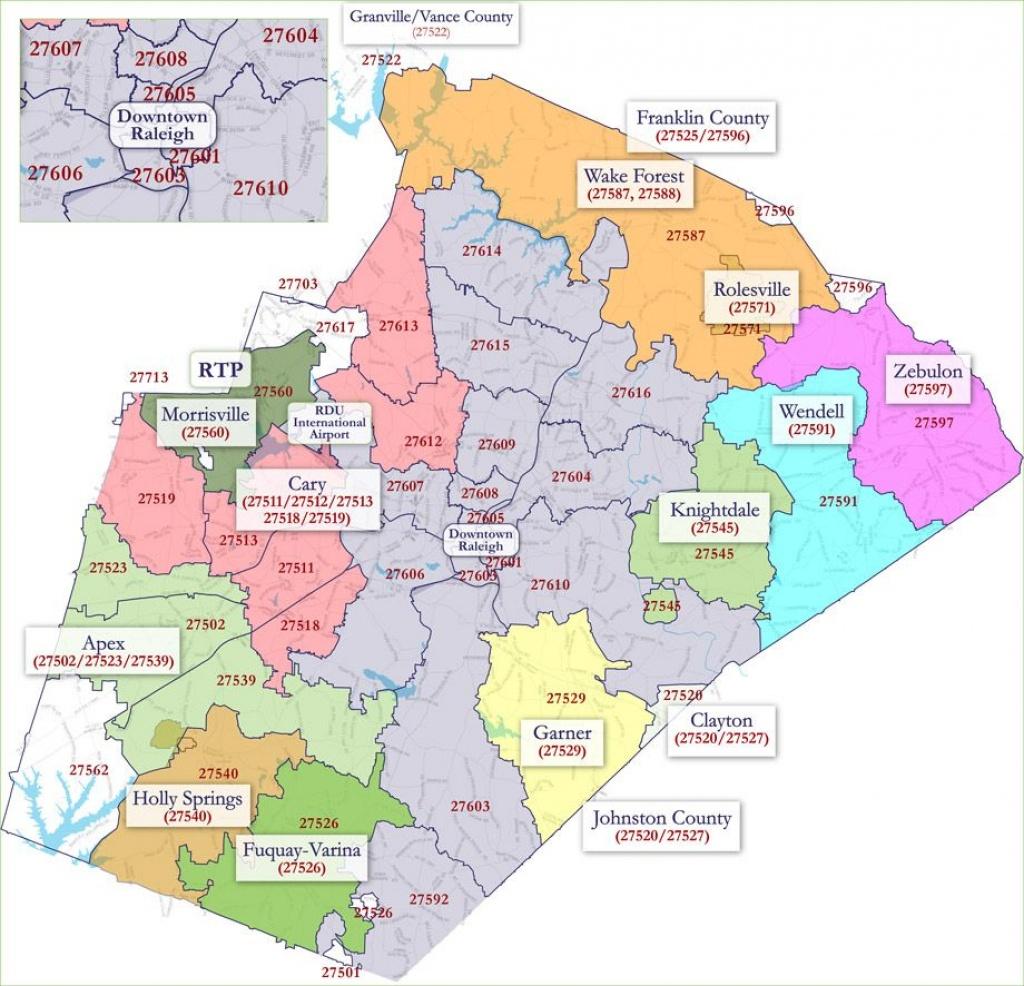 Raleigh Nc Zip Code Map - Google Search   North Carolina   Zip Code - Printable Map Of Raleigh Nc