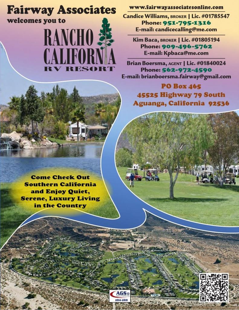 Rancho California Rv Resortags/texas Advertising - Issuu - Rancho California Rv Resort Site Map