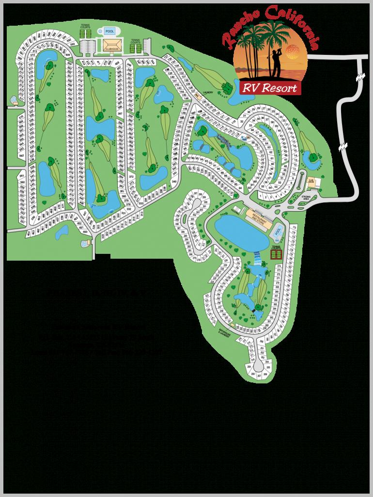 Rancho California   Temecula Realty, Inc. - California Rv Resorts Map