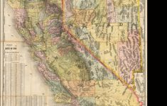 Road Map Of California And Nevada