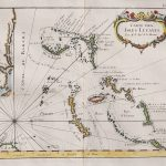 Rare Map Of The Bahamas And East Coast Of Florida || Michael – Jennings Florida Map