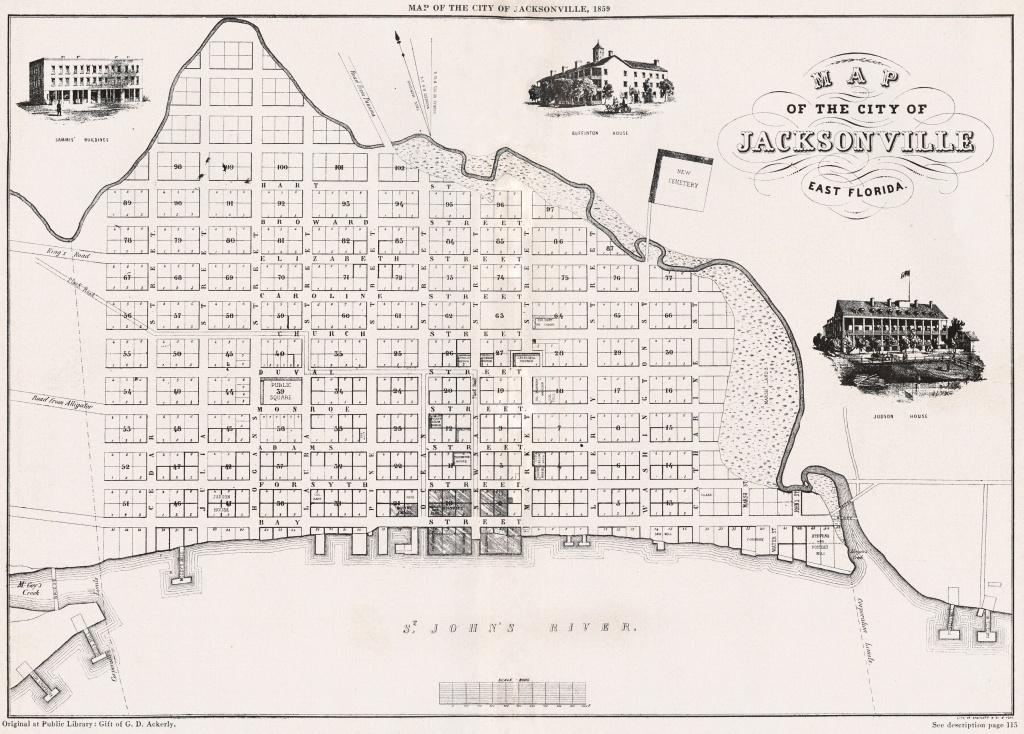 Red Bank Plantation, An Enduring Symbol Of The Old South - The - Old Maps Of Jacksonville Florida