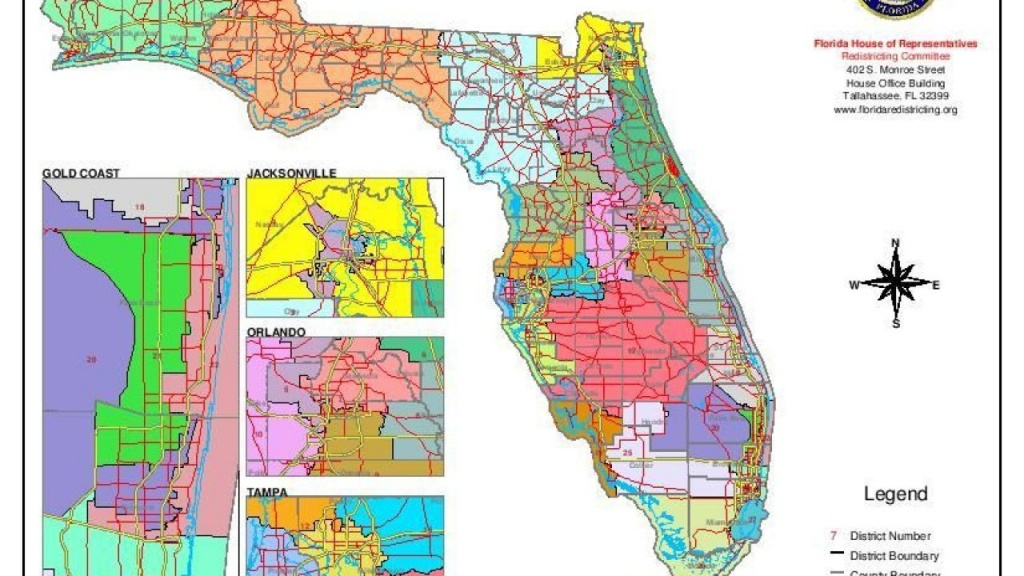 Redistricting Ruling Could Come Next Week - Tallahassee On The Map Of Florida