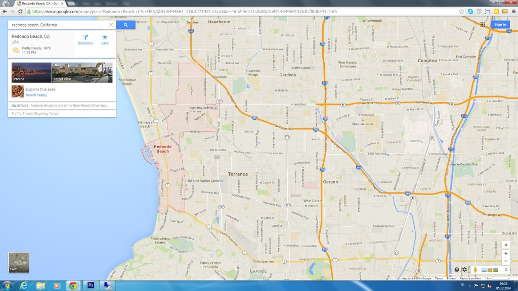 Redondo Beach California Map - Redondo Beach California Map