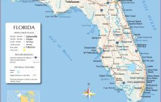 Reference Maps Of Florida, Usa – Nations Online Project – Where Is Punta Gorda Florida On A Map