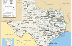 Map Of Texas Coastline Cities