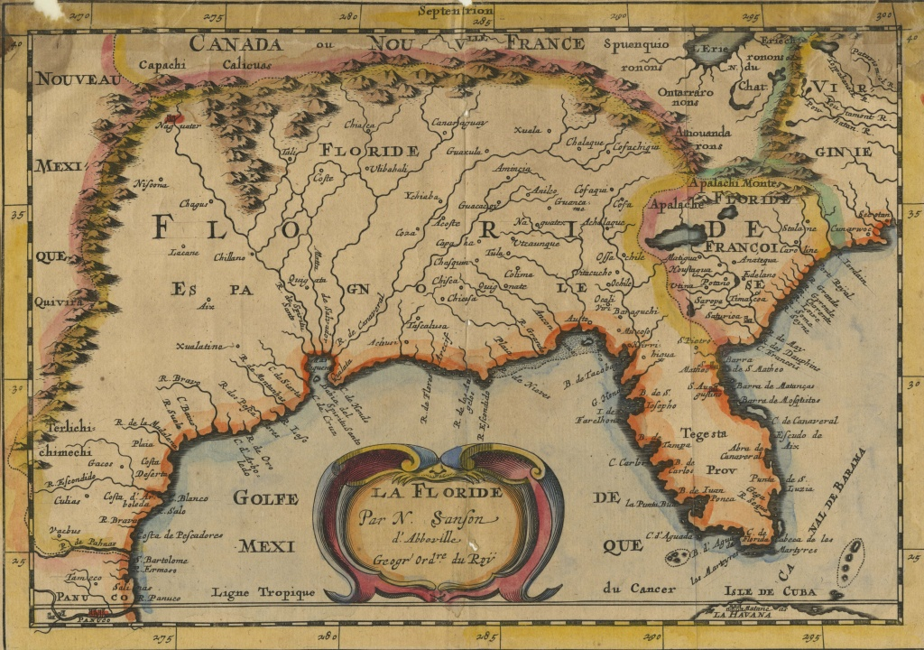 Reflections Of A French Dream: Early Modern Maps From Florida (16Th - Early Florida Maps
