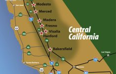 Regional Maps – Central California – Map Of Central California