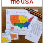 Regions Of The United States Map Activities | Assorted Tpt Pins   United States Regions Map Printable