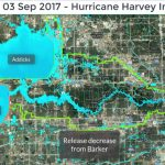 Release From Addicks, Barker Reservoirs Slowly Reduced   Barker Texas Map