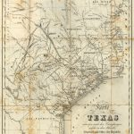 Republic Of Texas 1841 Map Print | Products | Texas Wall Art, Texas   Old Texas Maps Prints