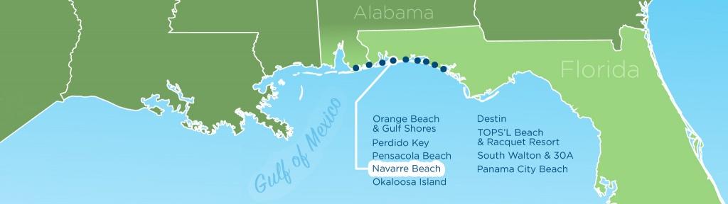 Resortquest Real Estate | Nw Fl & Al Gulf Coast Condos And Homes For - Orange Beach Florida Map