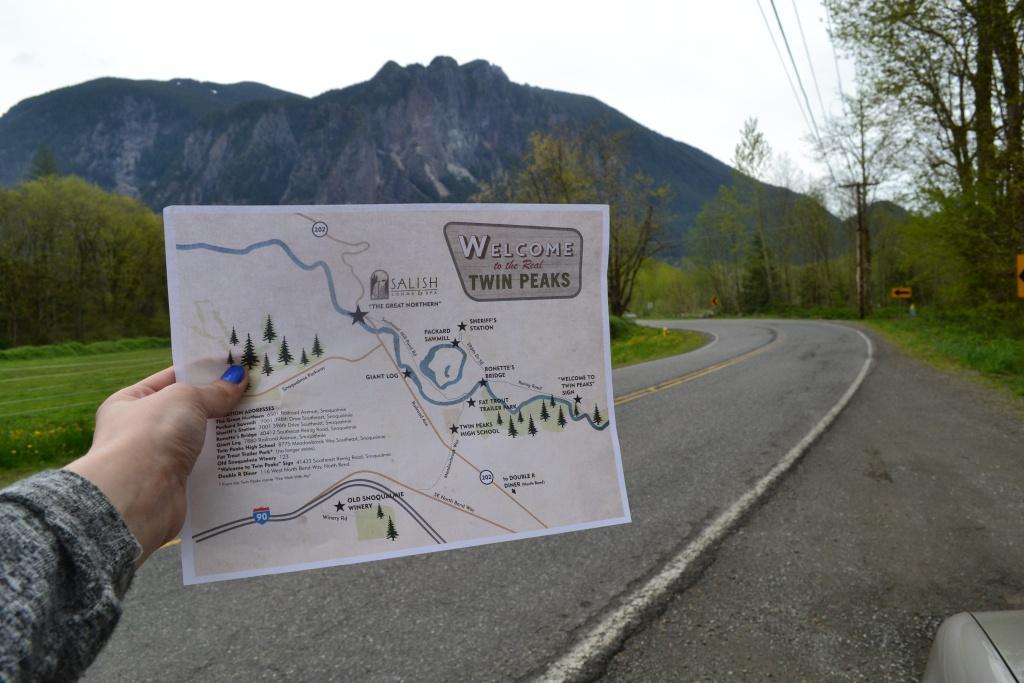Returning To Twin Peaks | Visit Seattle - Twin Peaks California Map