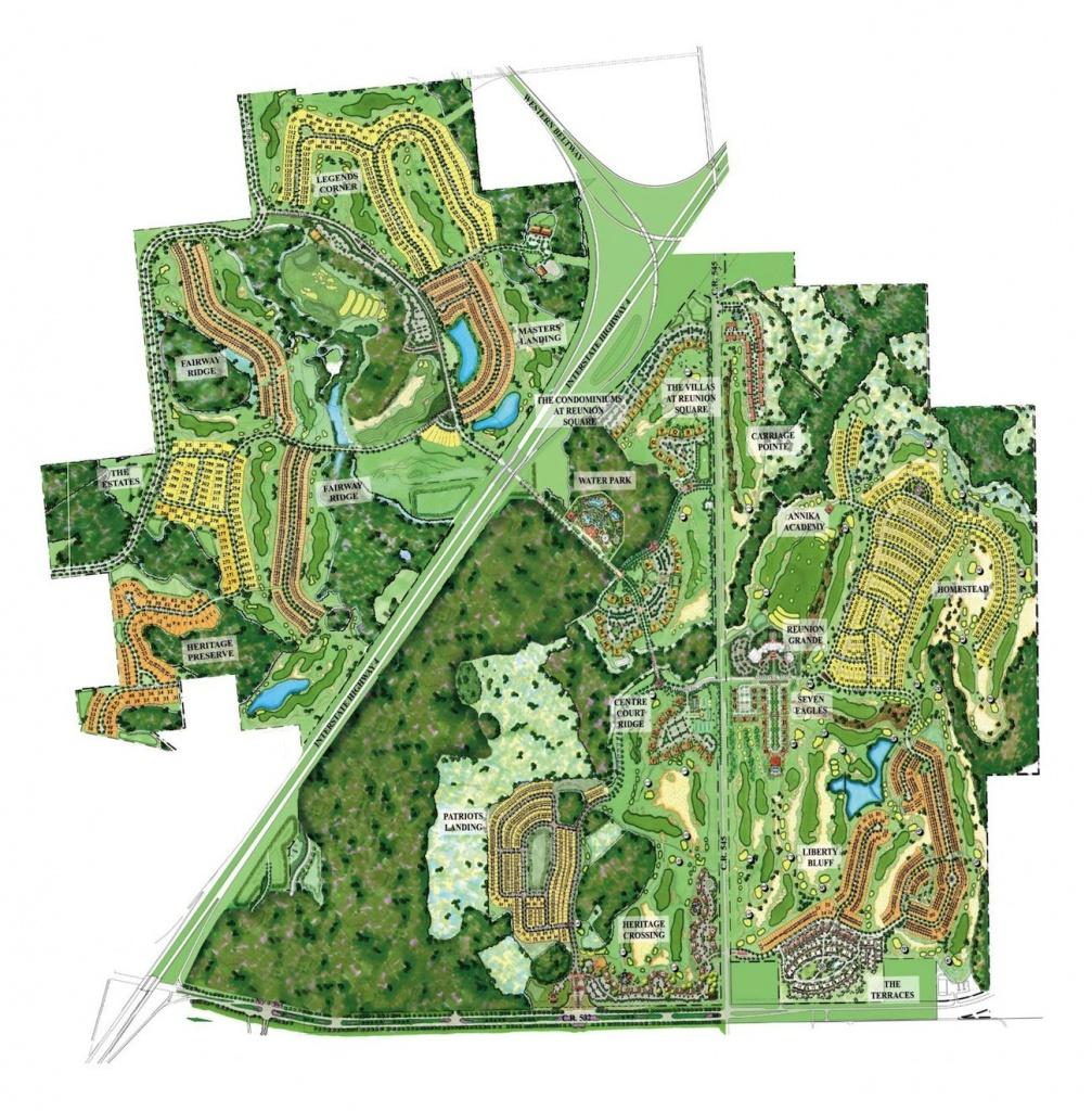 Reunion Resort Map #reunion_Resort_Map | Disney Vacation Trip - Map Of Reunion Resort Florida