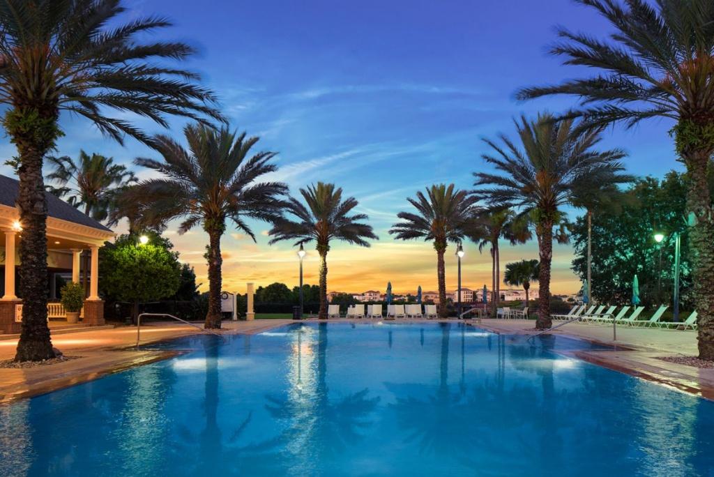 Reunion Resort Water Park And Pools - Orlando Florida - Map Of Reunion Resort Florida