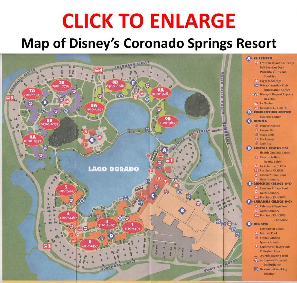 Review: Disney's Coronado Springs Resort In 2019 | Disney | Coronado - Map Of Disney Springs Florida