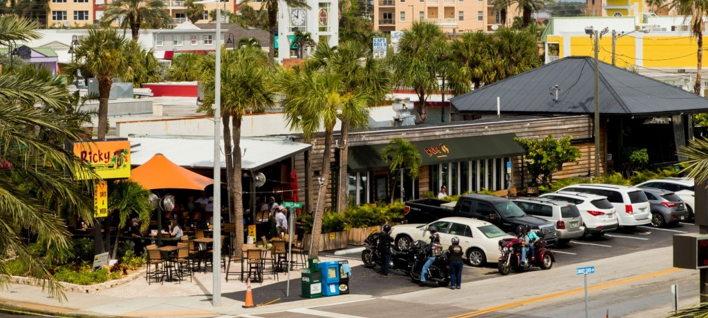 Ricky T's Bar And Grille Restaurant In Treasure Island, Florida - Street Map Of Treasure Island Florida