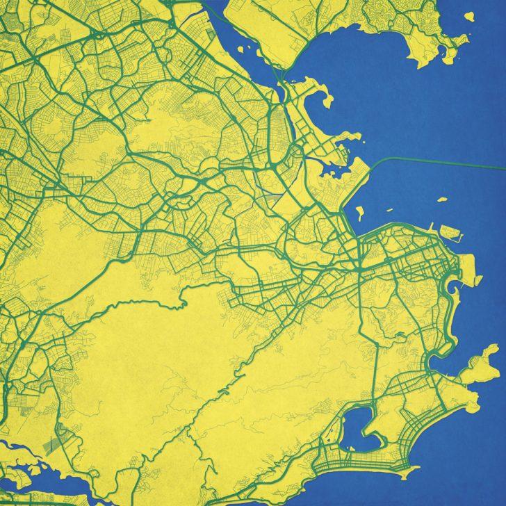 Printable Map Of Rio De Janeiro